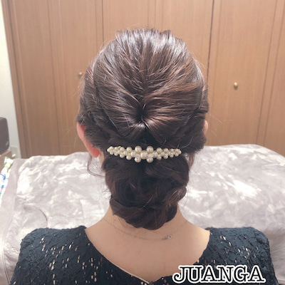 結婚式❤︎ヘアセットの記事に添付されている画像