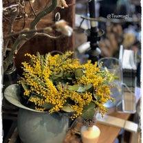 アンティークと花のしつらえ…tsumugiさんにての記事に添付されている画像