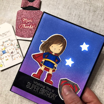初めての光るカード☆の記事に添付されている画像