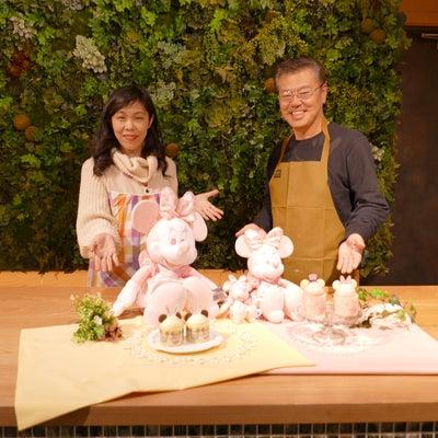 <はじめての方限定>桜 ミッキーマウス&ミニーマウス ケーキを作ろう!の記事に添付されている画像