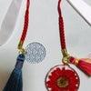 帯留・根付の作製とヴィヴィアンのピアスのリメイクの画像