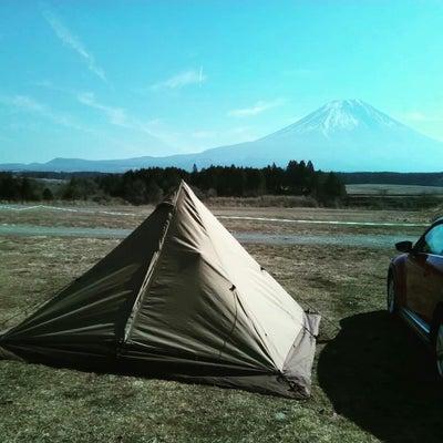 富士山のふもとっぱらのテントの中で3時間やっていたことの記事に添付されている画像