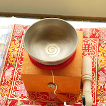 【残6】釈迦族 謹製ミニシンギングボウル<セブンメタル>の記事に添付されている画像