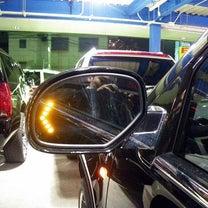 キャデラック エスカレード ドアミラーのウインカーを車検対応に!の記事に添付されている画像