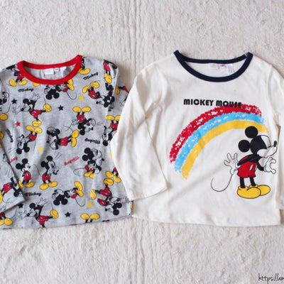 【しまパト】ディズニーが可愛い!ワンコインのベビーTシャツ☆の記事に添付されている画像