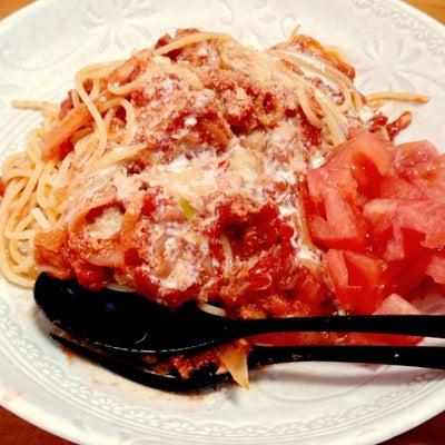 ツナと玉ねぎのトマトクリームスパゲッティの記事に添付されている画像