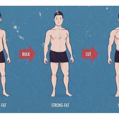 Skinny fat(スキニ―ファット)をご存知ですか?の記事に添付されている画像