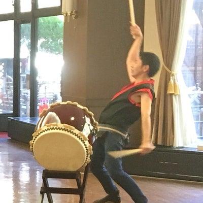 和太鼓にてボランティア演奏の記事に添付されている画像