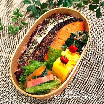 ◆鮭の西京焼き弁当 2/19  and  あの小さかった子が就職!の記事に添付されている画像