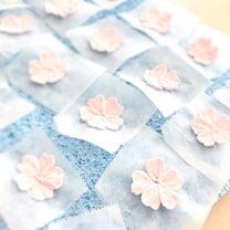 基本のお花絞りプラス1で♡可憐な桜のお花絞りの記事に添付されている画像