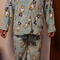 韓国土産のフリースのパジャマの記事に添付されている画像