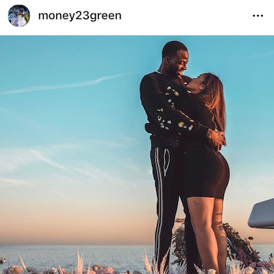 NBA:ドレイモンド・グリーン、超豪華なリングで超豪華なプロポーズの記事に添付されている画像