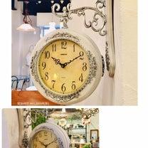 ☆両面壁掛時計☆の記事に添付されている画像