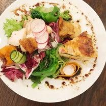 前衛的なサラダの記事に添付されている画像