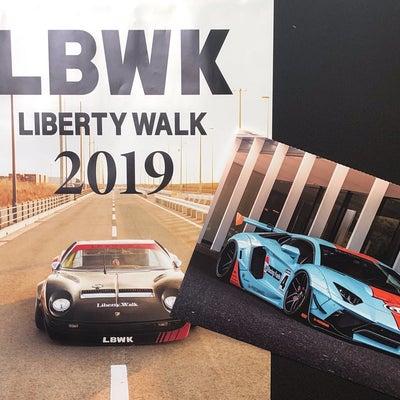 2019 LB 壁掛けカレンダー LBWK Liberty Walk 新品未開封の記事に添付されている画像