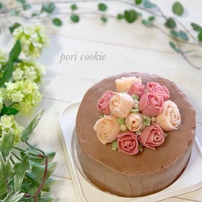 【学びの日】フラワーケーキ初体験♡ @Aliceの記事に添付されている画像
