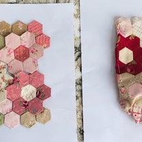 ヘキサゴン♡お花いっぱいのポーチの記事に添付されている画像
