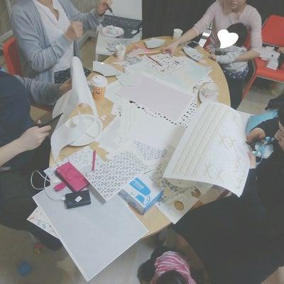 【開催レポ】愛する我が子にポーセラーツでオリジナルプレートを作ってみる会の記事に添付されている画像