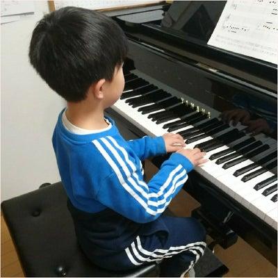 『できる』がぐんぐん成長中☆6歳クン~館林新部ピアノ教室~の記事に添付されている画像