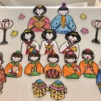 ひな祭りの飾り付けの記事に添付されている画像