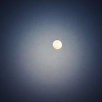 前夜の月。の記事に添付されている画像