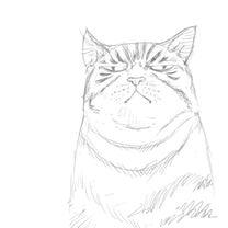 猫の絵190212 途中絵7の記事に添付されている画像