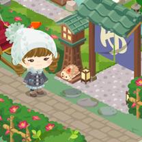 【ピグライフ】温泉宿のある和風庭園に模様替えの記事に添付されている画像