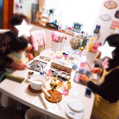 アロマワックス☆4歳女子もステキに作ってくれました♪の記事に添付されている画像