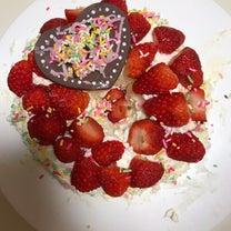 手作りケーキと娘の成長の記事に添付されている画像