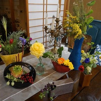 花シャッフルと家の風景・味噌汁の天才(笑)・食べ物記録・丸帯を兵児帯にの記事に添付されている画像
