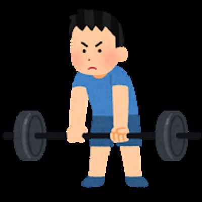 トレーニングの姿勢の記事に添付されている画像