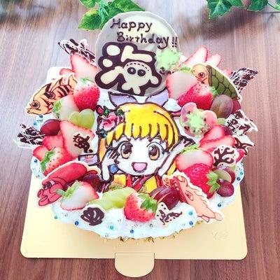パチンコ「海物語」のバースデーケーキの記事に添付されている画像