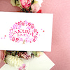 通学生さん限定【桜咲くカード作りワンデイレッスン】のご案内の画像