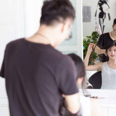 髪を整えて気の流れをよくする。の記事に添付されている画像