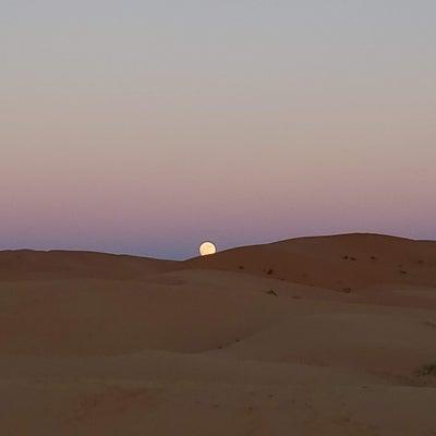 砂漠の満月の記事に添付されている画像
