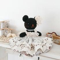 レアな黒猫ちゃん完成しました♪メルカリで出品中~の記事に添付されている画像