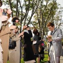 大阪江坂での結婚式の写真 親子3人のウェディング 結婚式ギャラリーへの記事に添付されている画像