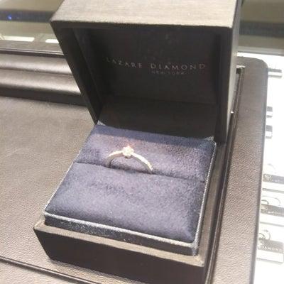 婚約指輪ができましたの記事に添付されている画像