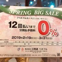 【3月31日まで】12回払いまで分割払い手数料無料!ベネフルSPRING・BIGの記事に添付されている画像