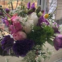 春のブーケ、アレンジメントの記事に添付されている画像