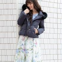 LAISSE♥水彩フラワープリントスカートの記事に添付されている画像