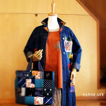 【SAYOCAFE+R】のリメイクデニムコートの記事に添付されている画像