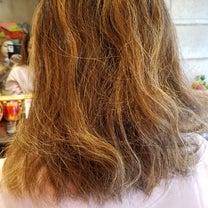 ブリーチハイライト毛にハードなパーマの記事に添付されている画像