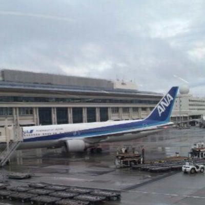 那覇空港にての記事に添付されている画像