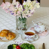 お気に入りの食器でおうちランチ❤️の記事に添付されている画像