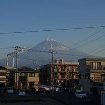 2019-01-26 朝の富士山の記事に添付されている画像