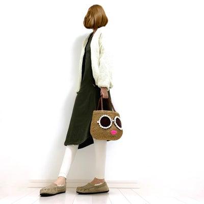 しまむら☆700円!即買いしたワンピースと主役級!大人気アジョリー新作かごバッグの記事に添付されている画像
