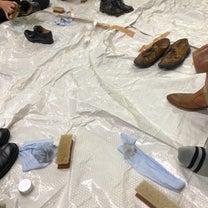 靴磨き会by青色申告会の記事に添付されている画像