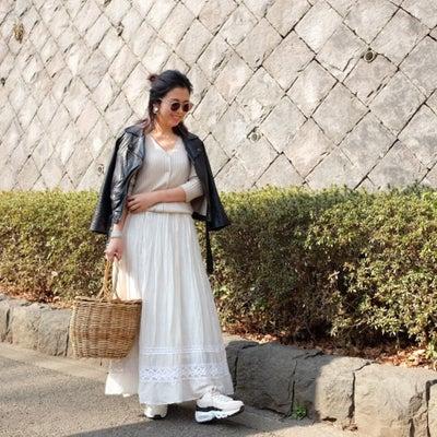 Today's Outfit♡ベージュ×ブラック コーデの記事に添付されている画像