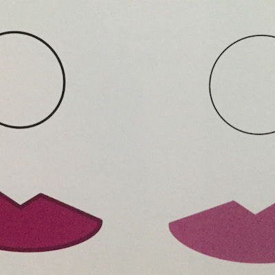 唇を小さく見せる事もふっくら見せる事も自由自在!バランスメイクの記事に添付されている画像